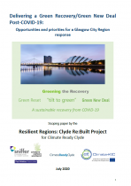 Delivering a Green New Deal post COVID-19 – Opportunities and priorities for a Glasgow City Region response