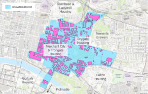 Footprint of the Climate Neutral Innovation District